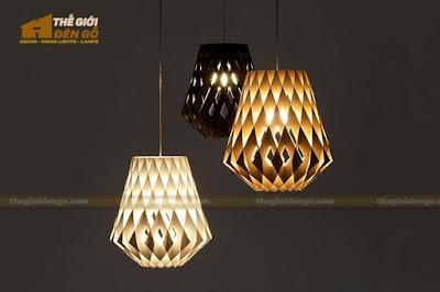Thế Giới Đèn Gỗ - Đèn gỗ trang trí dg212-7