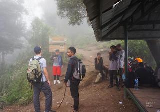 Jalur Pendakian Merapi - Pos I