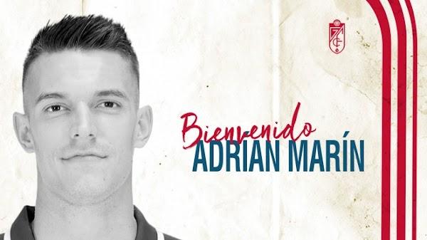Oficial: Granada, firma Adrián Marín hasta 2023