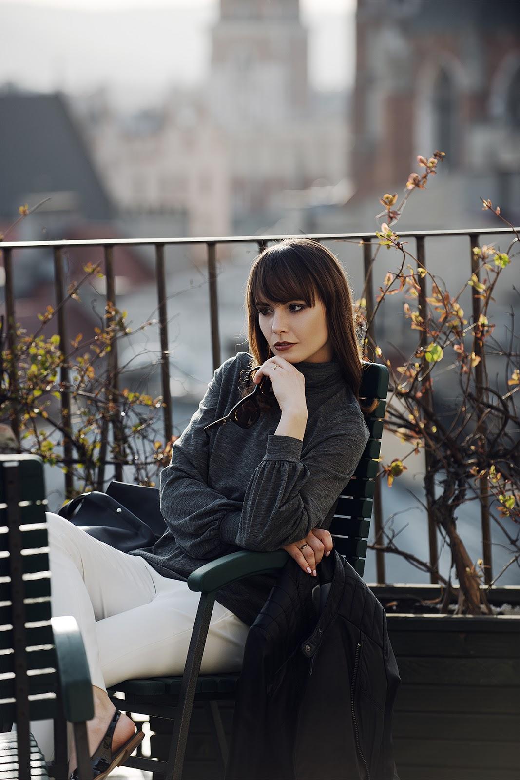 cammy | blogi modowe | minimalistyczna sesja | biale spodnie