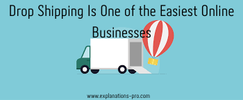 Drop shipping is one of the Easiest online Businesses
