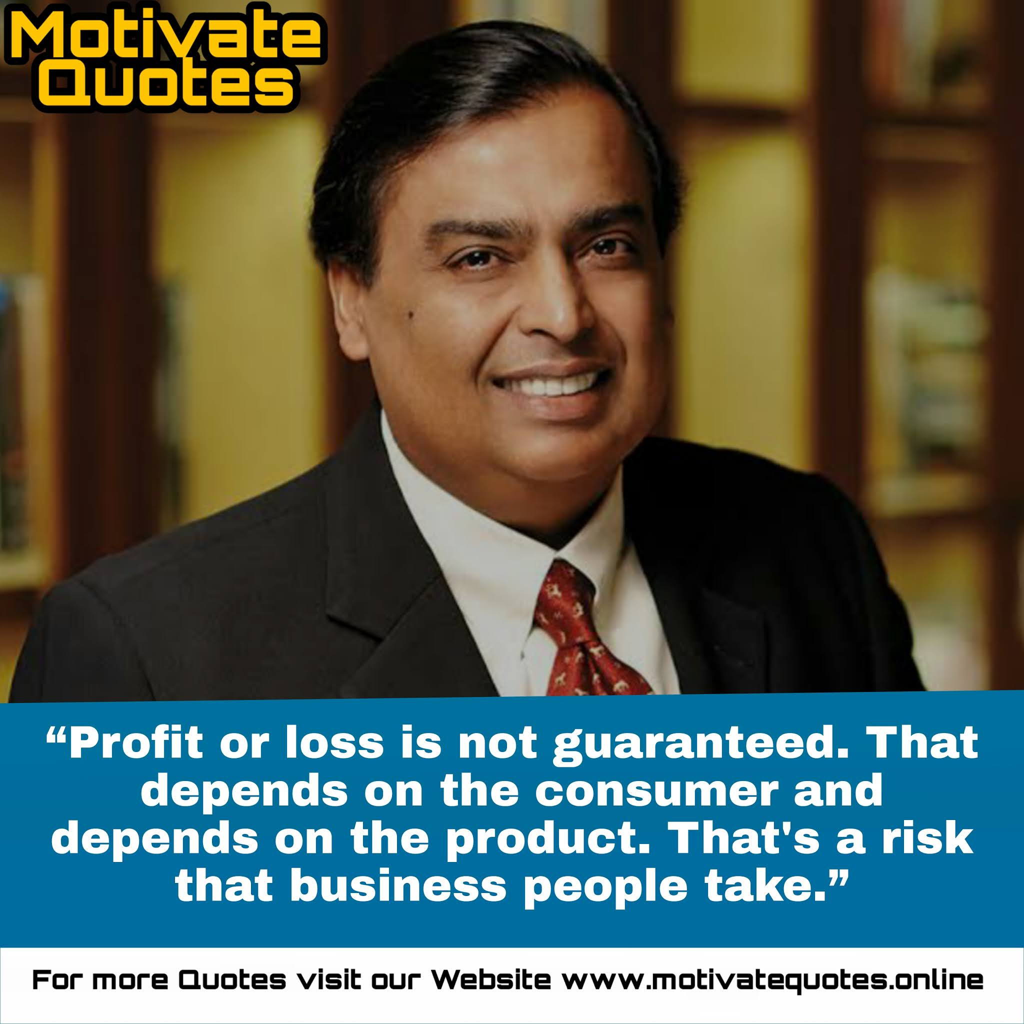 Motivational Quotes by Mukesh Ambani to improve your insights in business