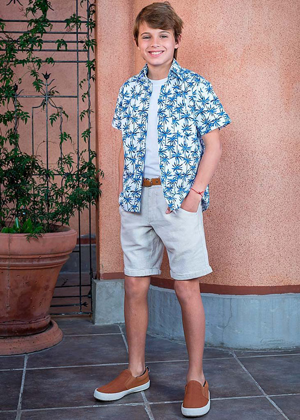 Camisas para niños primavera verano 2018. Moda primavera verano 2018.