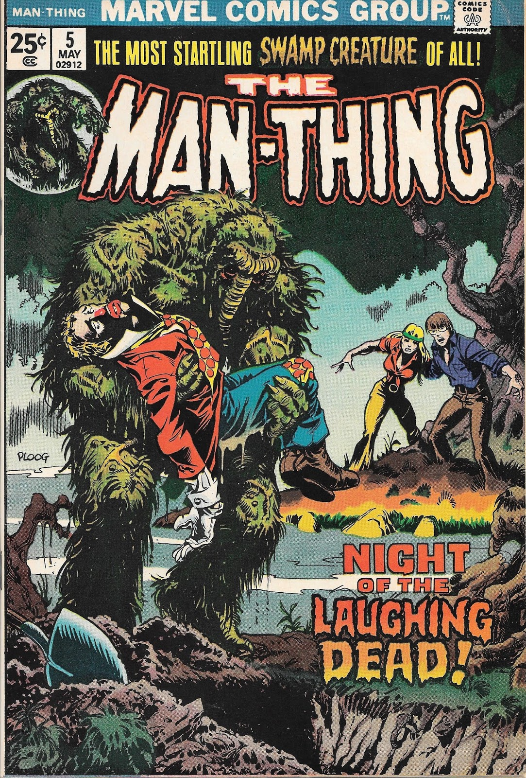Night Of The Laughing Dead Man Thing 5 And 6