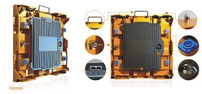 Đơn vị phân phối màn hình led p4 cabinet giá rẻ tại Hậu Giang