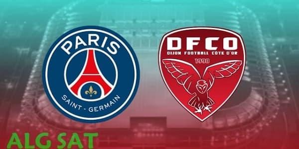 موعد مباراة ديجون ضد  باريس سان جيرمان والقنوات الناقلة  ربع نهائي كأس فرنسا .