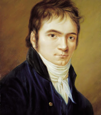 Portrait of Ludwig van Beethoven (1803) όταν έγραψε την Δεύτερη Συμφωνία by Christian Horneman (1765–1844)