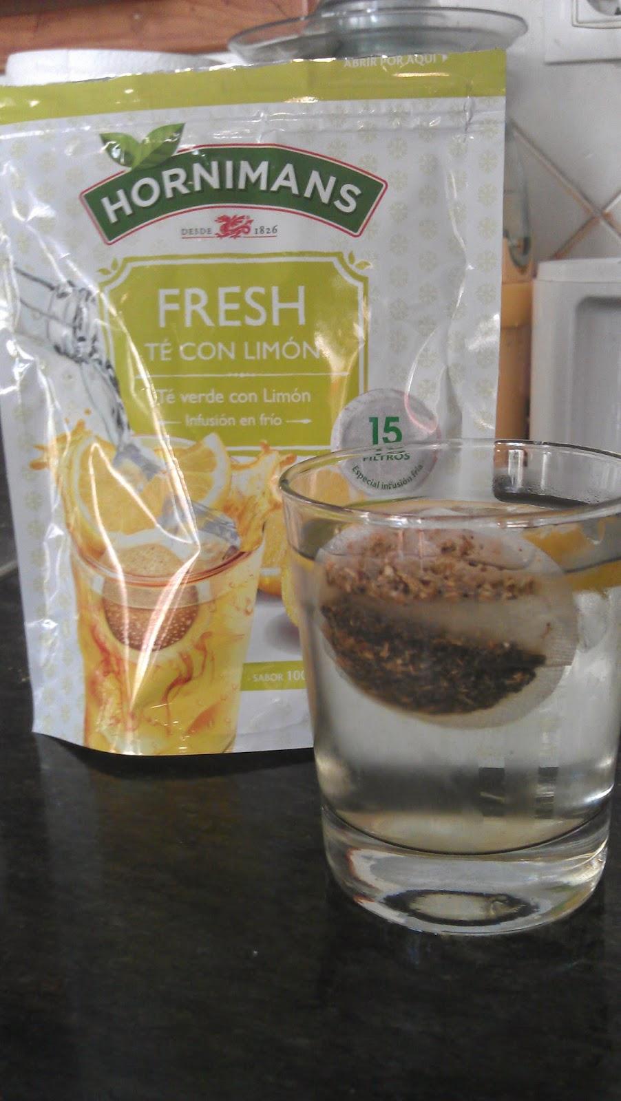 como preparar el te verde frio