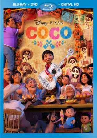 Coco 2017 BRRip 999MB English 720p ESub