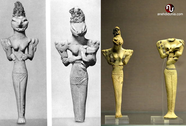 Patung Manusia Kadal
