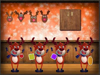 Amgel Reindeer Room Escap…