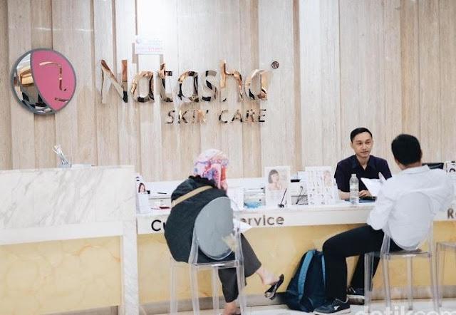 Review dan Info Harga Paket Perawatan Kecantikan Terbaru Facial Jerawat di Natasha Skin Care