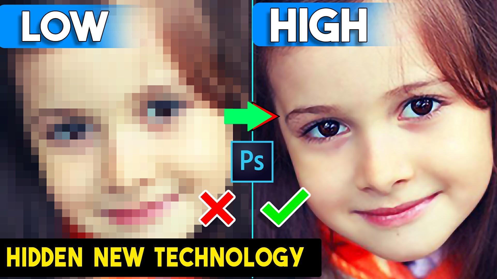 depixelate image convert