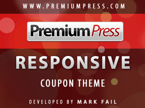 Premium Press Responsive Coupon Theme Discount