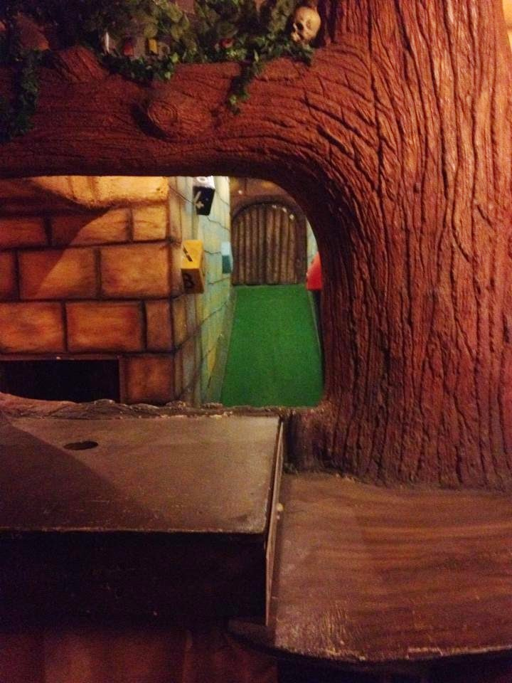 A view of the Magical Golf indoor Adventure Golf course at Mannings Amusements in Felixstowe, Suffolk (photo by Paul O'Conner, 2014)