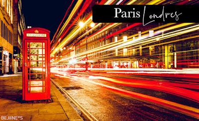 Voyage direction Londres