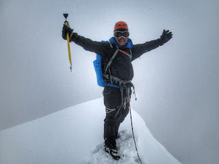 Summit Nevado Mateo, Cordillera Blanca, Peru