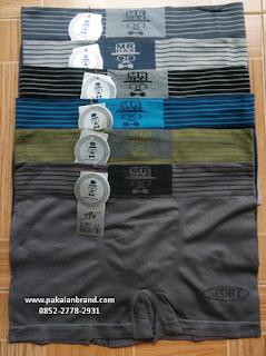 Jual Pakaian Dalam Pria Boxer CalniKean Mr.Dax 8815 XL