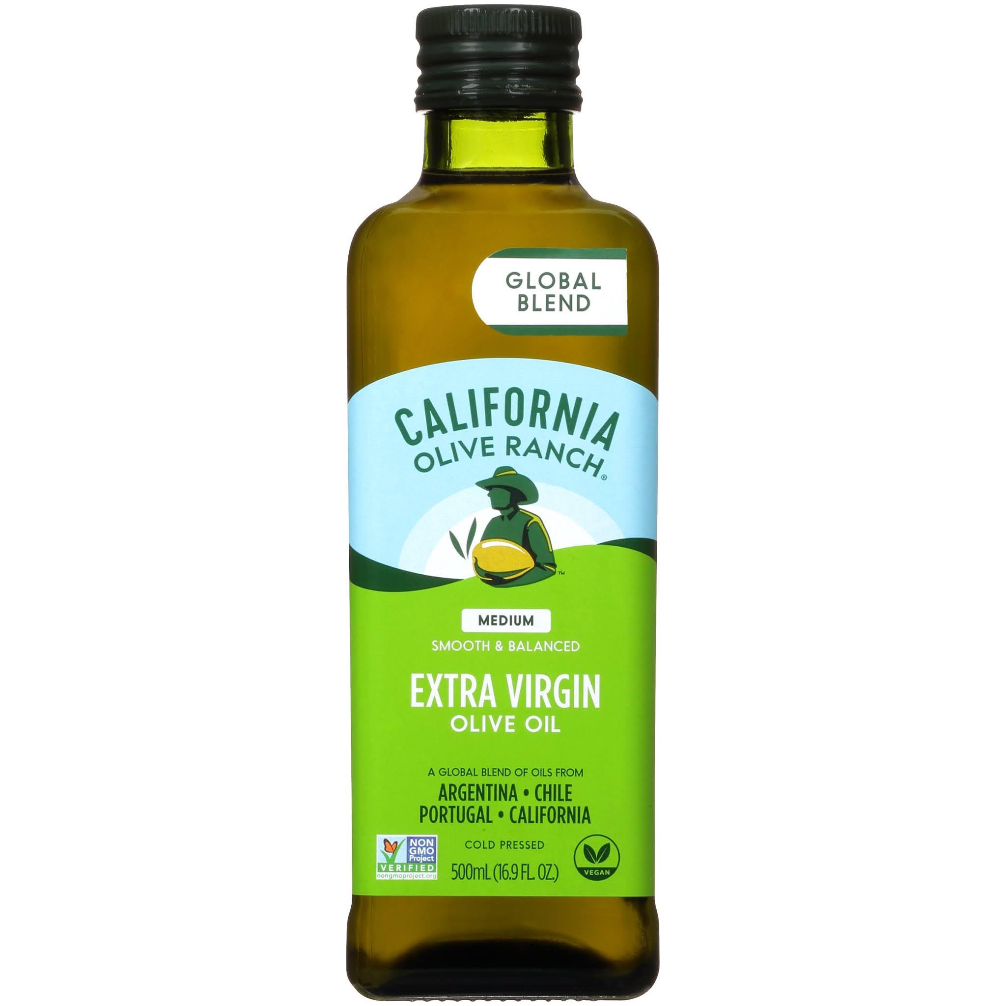 California Olive Ranch, свежее калифорнийское нерафинированное оливковое масло высшего качества, 500 мл (16,9 жидк. унции)