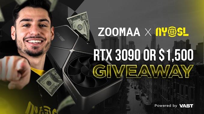 Sorteio de uma RTX 3090 ou $1,500 dólares em dinheiro