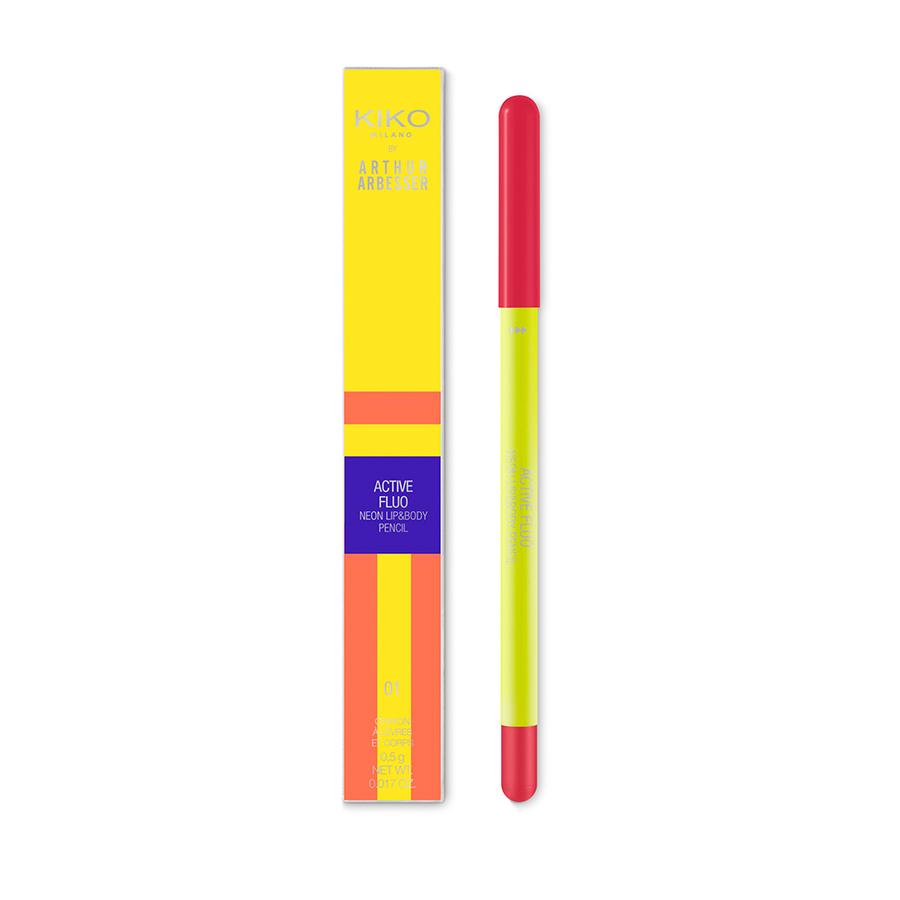 Capsule collection Mayo Active Fluo KIKO MILANO lip and body pencil