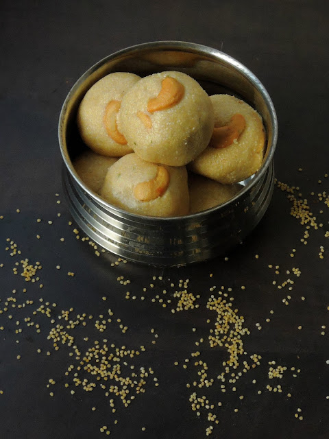Thinai Rava Laddoo