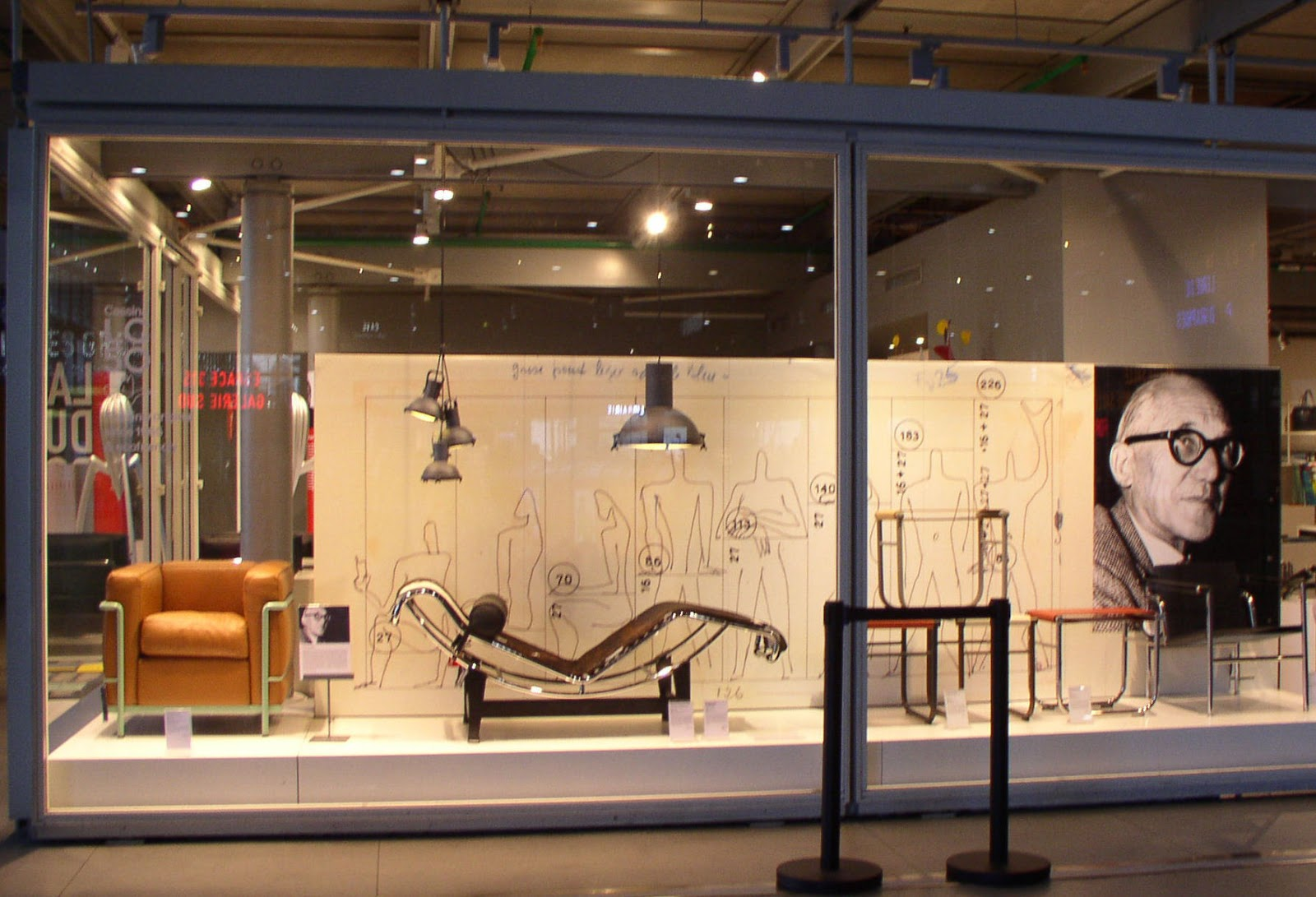 Modulor Shop From Paris With Love Le Corbusier At The Pompidou Center
