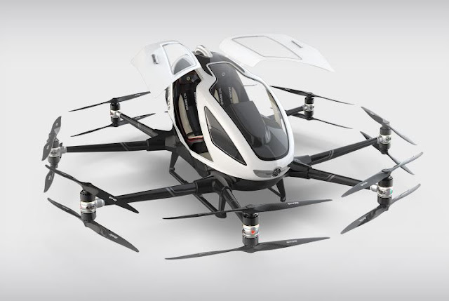 EHang 216 Autonomous Aerial Vehicle