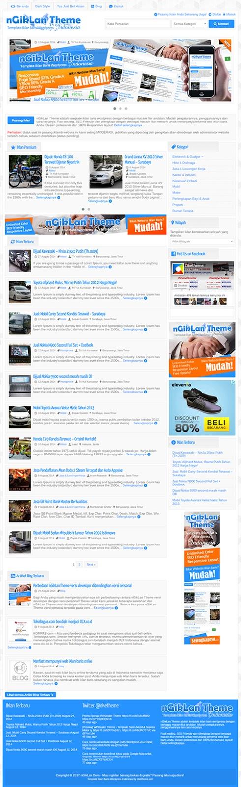 Jasa Pembuatan Situs Iklan Baris Gratis Termurah | Menuu.id