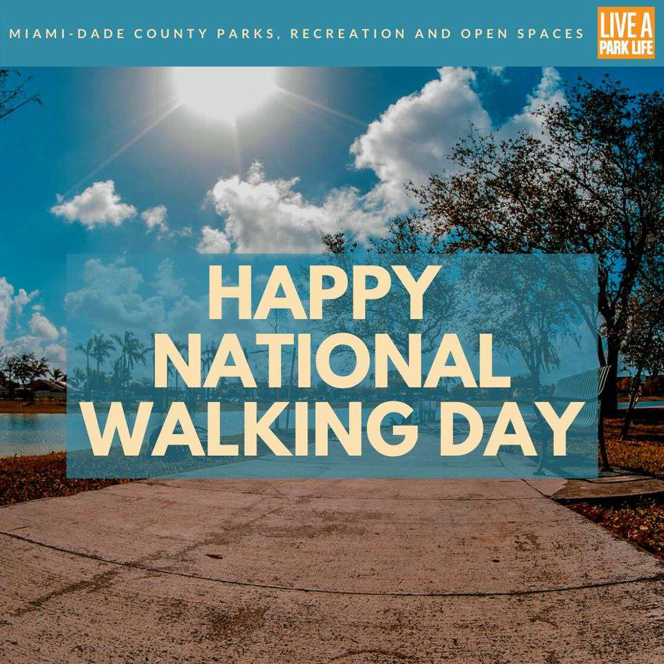 National Walking Day Wishes Images