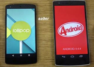 الفرق الرئيسية التي يجب أن تعرفها عن Android KitKat Vs Lollipop