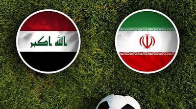 مشاهدة مباراة العراق وإيران