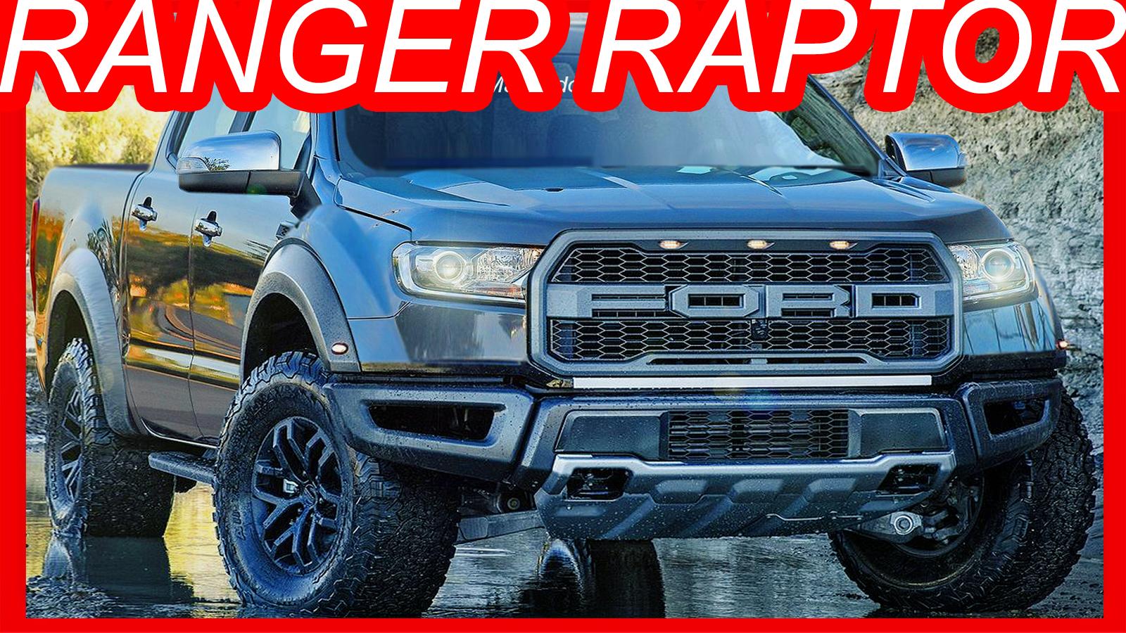 Photoshop new 2019 ford ranger raptor at10 3 5 v6 ecoboost 375 hp