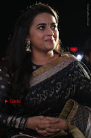 Actress Sri Divya Latest Pos in Black Saree at Sangili Bungili Kathava Thora Tamil Movie Audio Launch  0013.jpg