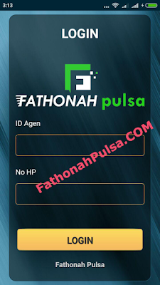login aplikasi android fathonah
