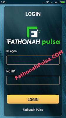 login aplikasi android fathonah