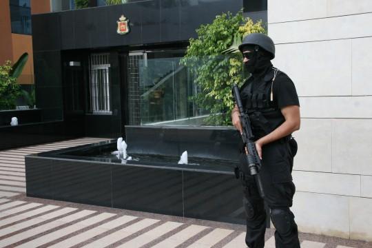 Interpellation d'un présumé terroriste au Maroc.