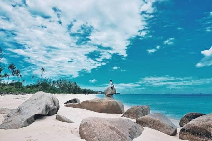 Pantai pasir putih Bintan, Indahnya Pulau White Sands