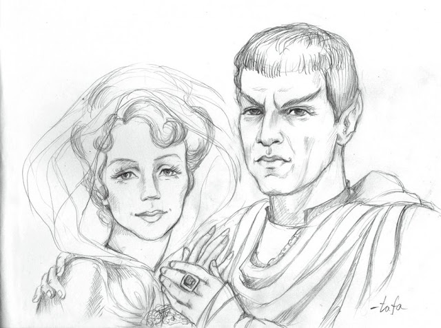 Beginners Guide to Amanda x Sarek Star Trek FanFiction