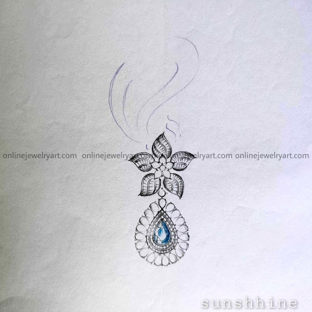 diamond earring set
