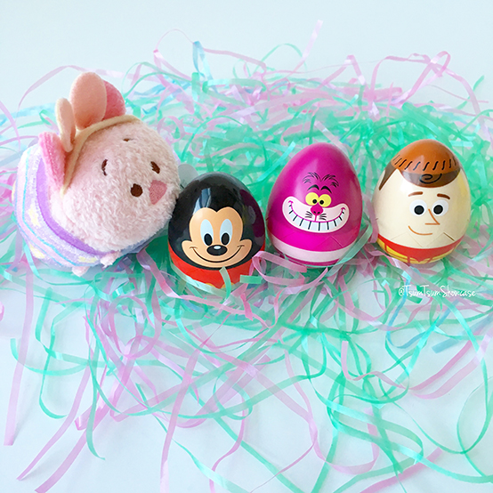 Egg-stravaganza eggs and Piglet Tsum Tsum