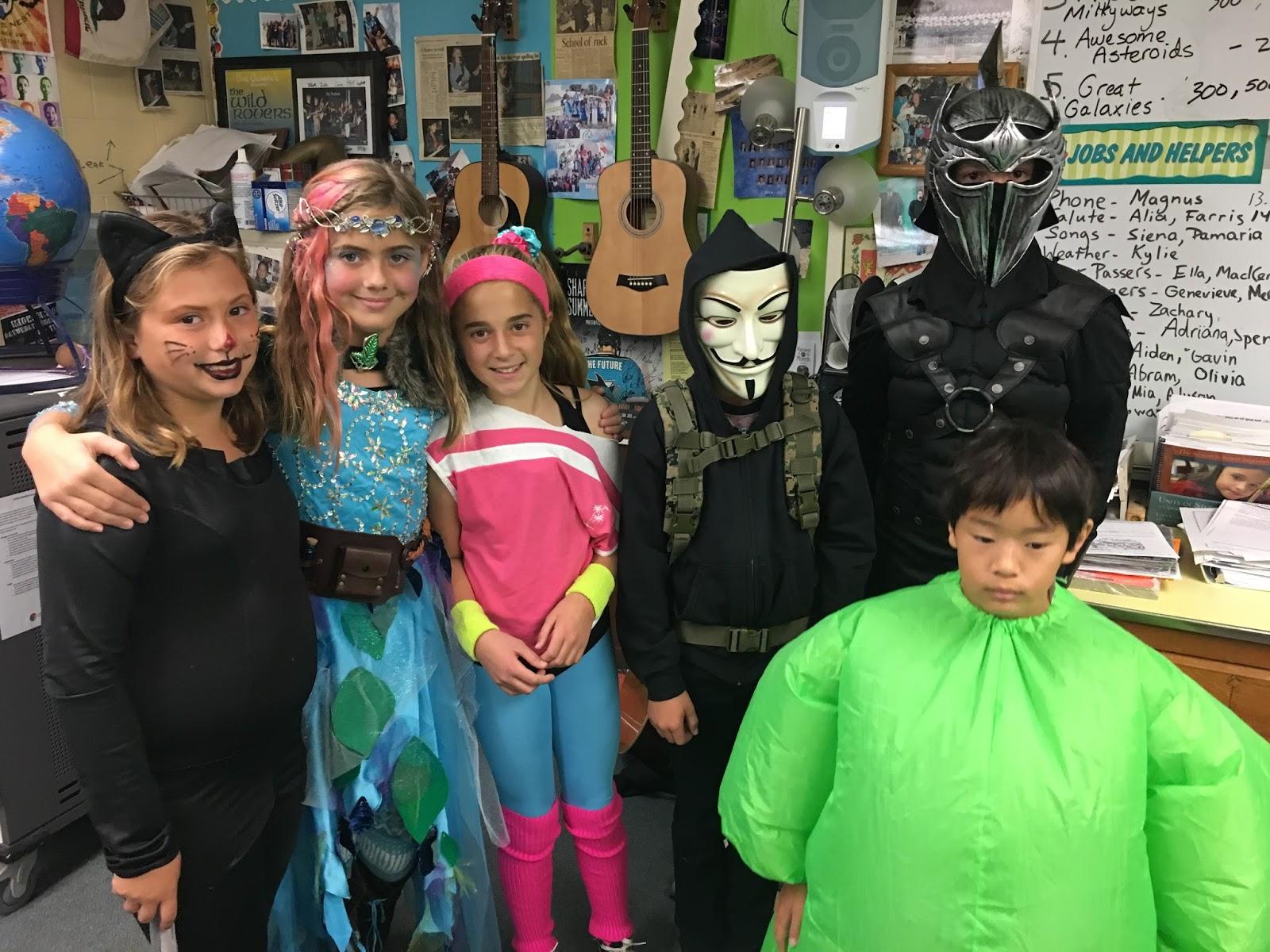 Mr Sweet S 6th Grade Halloween Week