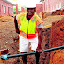 Former soccer star Christopher Netshidzivhe now works as labourer after retiring (Photos)