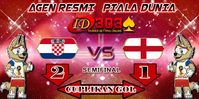 CUPLIKAN GOL CROATIA 2 - 1 ENGLAND
