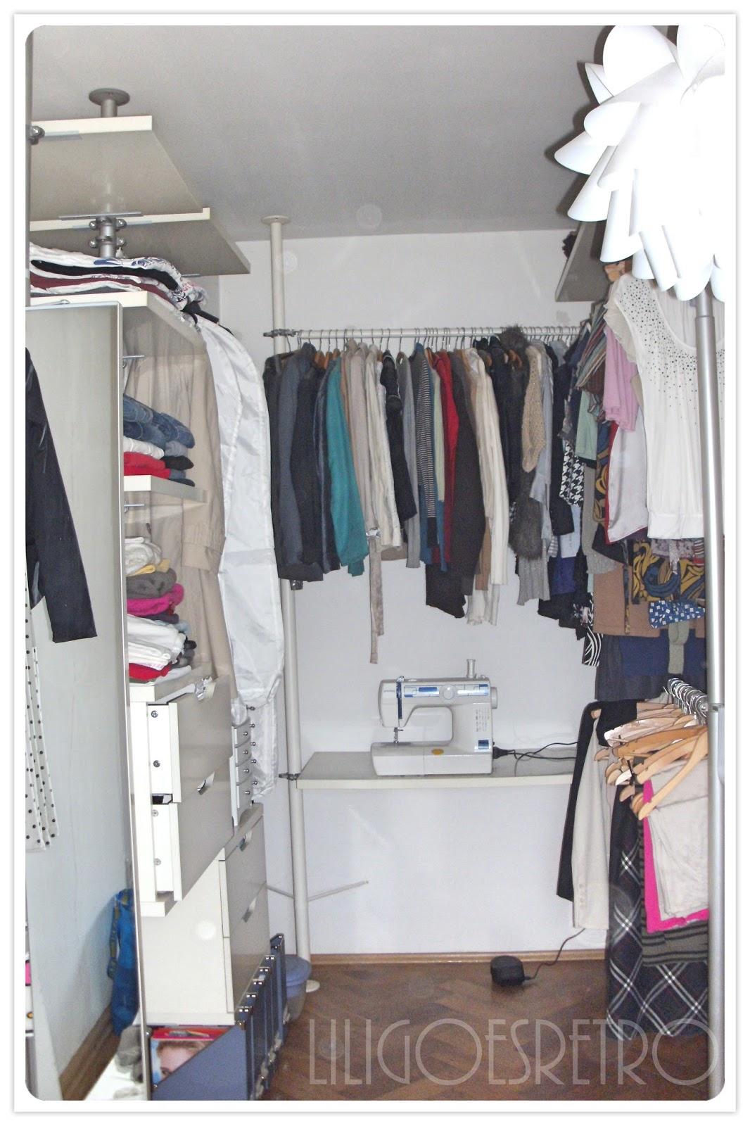 lili goes retro das projekt kleiderschrank. Black Bedroom Furniture Sets. Home Design Ideas