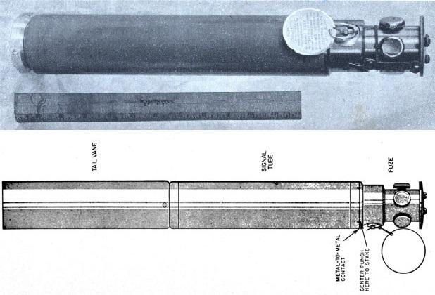 قنبلة MK 22 التي استخدمت كوسيلة للابلاغ عن مواقع الطوارئ عبر تفجيرها في مستوى قناة SOFAR في عمق المحيط MK 22 BOMB