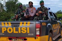 Pastikan Elikobel Aman, TNI-Polri Patroli Pengamanan Akhir Tahun