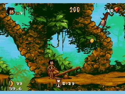【MD】森林王子(叢林大冒險)無限生命Hack版,可愛有趣又輕鬆的冒險遊戲!