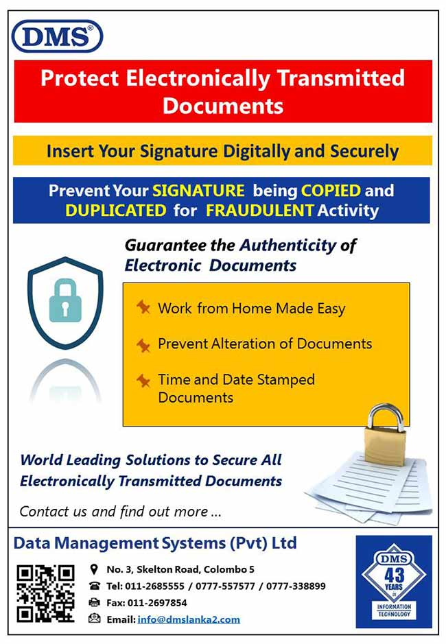 Protect Electronically Transmitted Documents.
