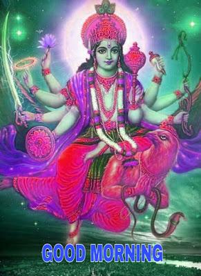 vishnu bhagwan good morning image